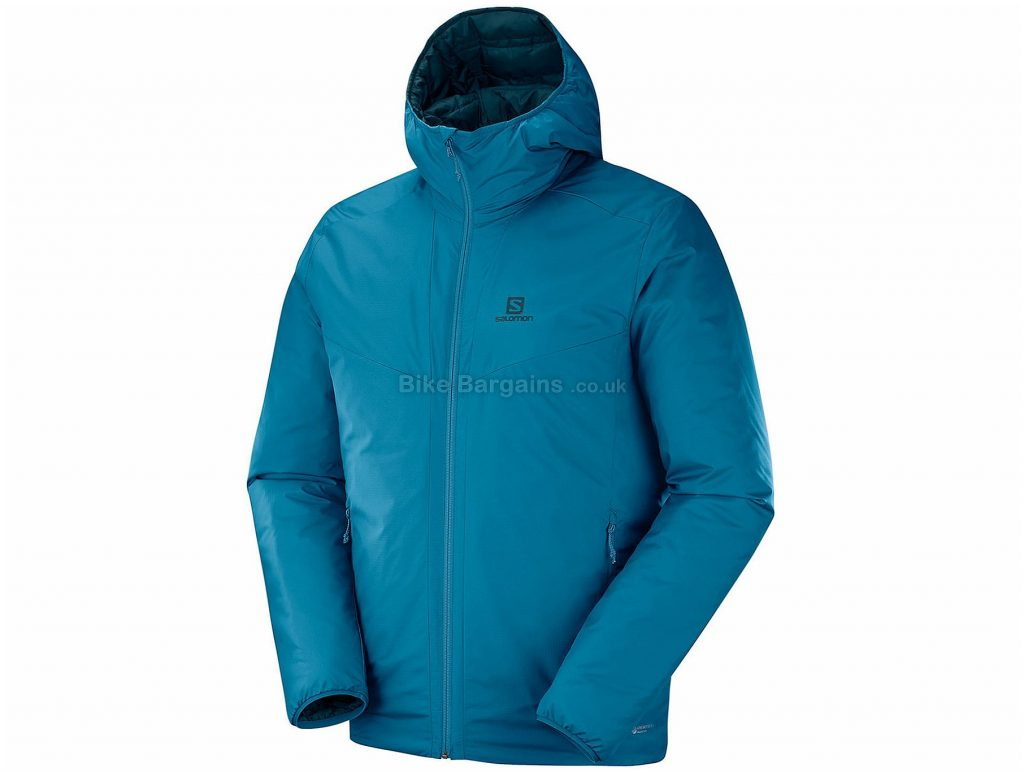 Salomon Drifter Loft Jacket XXL, Blue, Insulated, Long Sleeve, Polyester