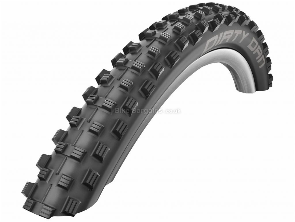 "Schwalbe Dirty Dan Evo DH MTB Tyre 27.5"", 2.35"", Black, Steel, 1.345kg, 27.5"""