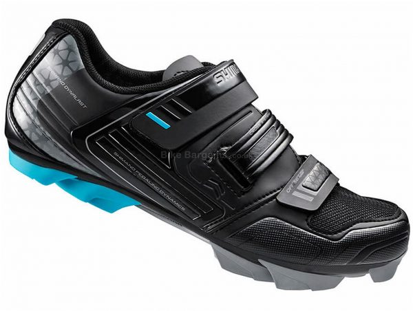 Shimano WM53 SPD Ladies MTB Shoes 36, Black, Fibreglass Sole, Velcro Closure, MTB Usage