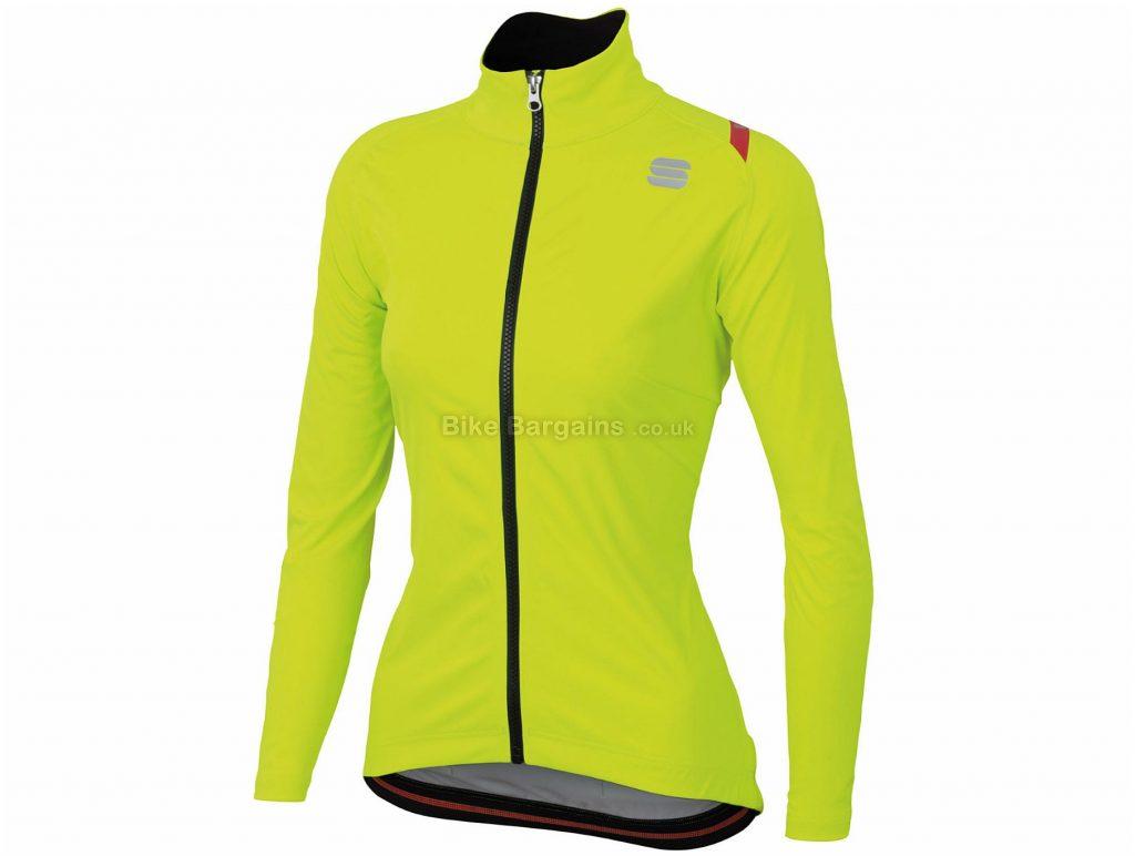 Sportful Ladies Fiandre Ultimate 2 Windstopper Jacket S,M, Blue, Windstopper Fabric, Long Sleeve, Ladies, Polyester, Elastane