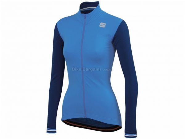Sportful Ladies Grace Thermal Long Sleeve Jersey XL, Grey, Insulating Thermal Fabric, Long Sleeve, Ladies, Polyester, Elastane