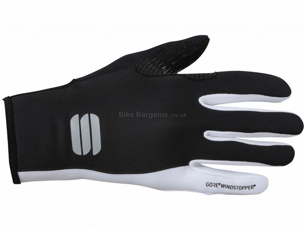 Sportful Ladies Windstopper Essential 2 Gloves M,XL,XXL, Black, Pink, Velcro Fastening, Breathable, Full Finger, Ladies, Polyester, Polyamide, Polyurethane, Elastane