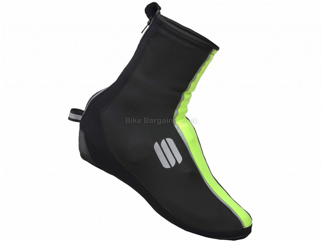 Sportful Reflex 2 Windstopper Booties Overshoes S, Red, Black, Windstopper, Unisex, Neoprene, Polyester, Polyamide