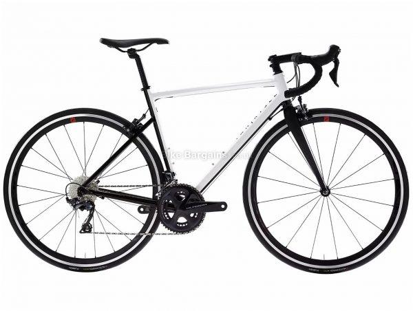 Van Rysel EDR AF Ultegra Endurance Road Bike L, White, Black, Alloy Frame, 22 Speed, Caliper Brakes, Double Chainring, 8.6kg, 700c Wheels