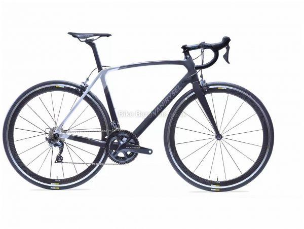 Van Rysel RR 920 CF Carbon Ultegra Road Bike XS, Black, Silver, Carbon Frame, 22 Speed, Caliper Brakes, Double Chainring, 7.6kg, 700c Wheels