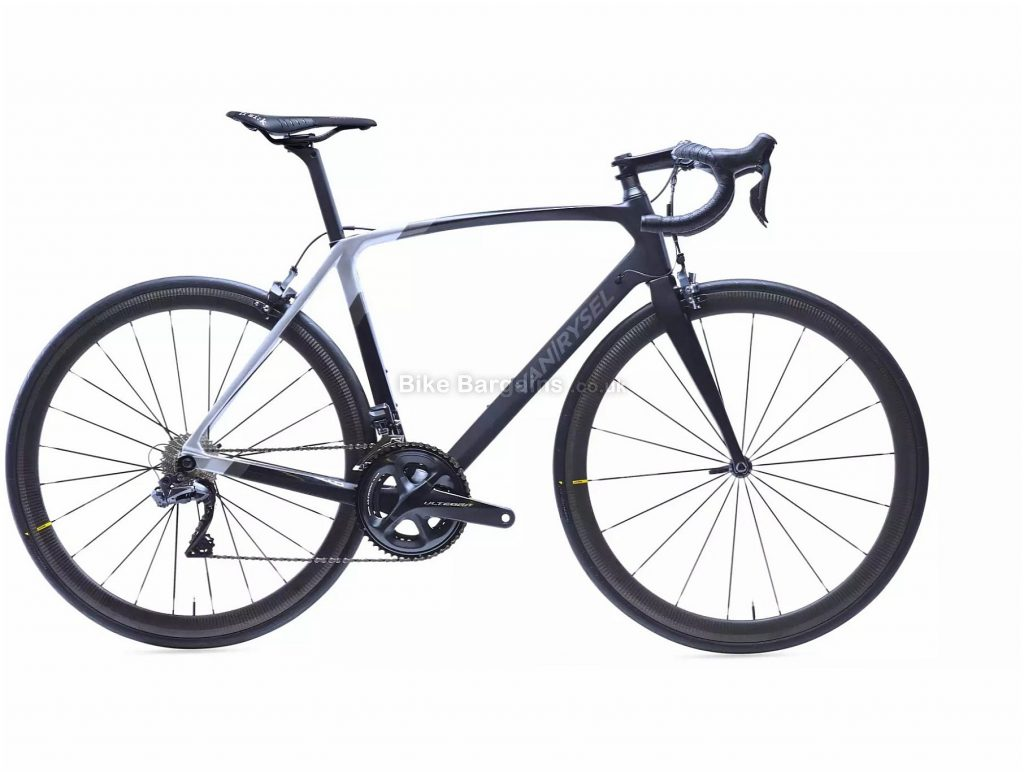 Van Rysel RR 940 CF Carbon Ultegra Di2 Road Bike XS,S,M,XL, Black, Grey, Carbon Frame, 22 Speed, Caliper Brakes, Double Chainring, 7.3kg, 700c Wheels