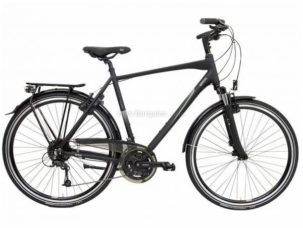 "Van Tuyl Terra S27 City Bike 24"", Black, Alloy Frame, 27 Speed, Triple Chainring, 700c Wheels, 16.6kg"