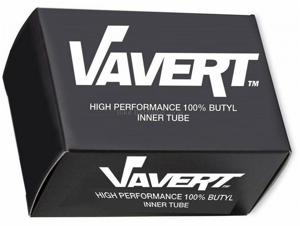 Vavert Road Inner Tube 700c, Black, Butyl, 18c, 23c, 25c, 28c, 32c, 35c, 40mm, 60mm,