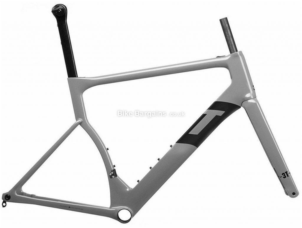 3T Strada Due Team Carbon Road Frame M, Grey, Carbon Frame, 700c, Disc, 1.005kg