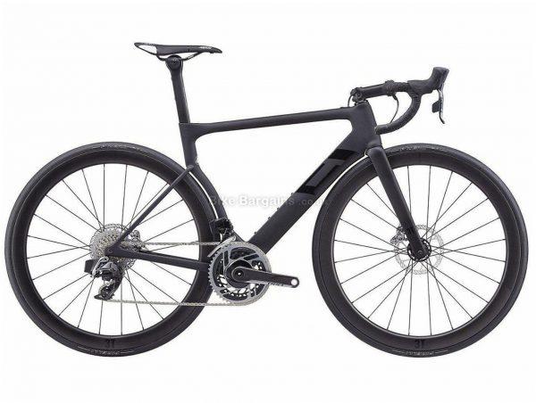 3T Strada Team Due Red eTap Aero Carbon Road Bike XL, Black, Carbon Frame, Disc Brakes, 24 Speed, 700c Wheels, Double Chainring