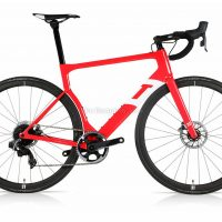 3T Strada Team Red eTap C35 Pro Aero Road Bike 2020