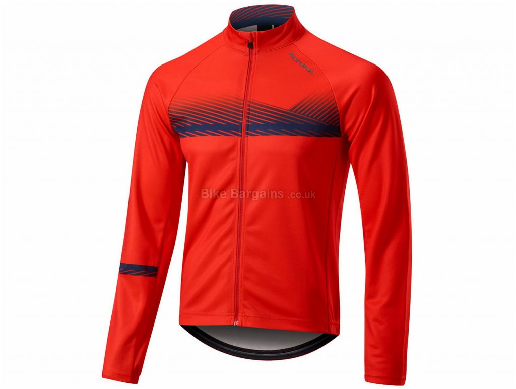 Altura Airstream Long Sleeve Jersey 2019 S, Red, Black