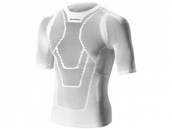 Altura Dry Mesh Short Sleeve Base Layer S,M, White, Short Sleeve
