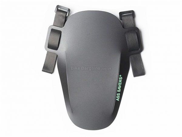 Ass Savers Mini Mudder Front CX Gravel Mudguard One Size, Black, 21g, Front