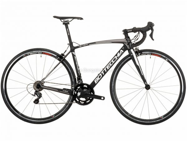 Bottecchia 8Avio Evo Ultegra Mix Carbon Road Bike 2020 47cm, Black, Grey, Green, White, 22 Speed, Carbon Frame, Caliper Brakes, 700c wheels