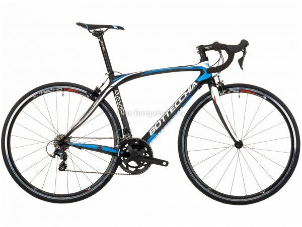 Bottecchia 8Avio Ultegra Mix Carbon Road Bike 2020 47cm, Black, White, Blue, 22 Speed, Carbon Frame, Caliper Brakes, 700c wheels