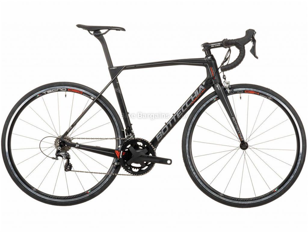 Bottecchia Doppia Corsa Ultegra Mix Carbon Road Bike 2020 51cm, Black, Grey, Red, White, 22 Speed, Carbon Frame, Caliper Brakes, 700c wheels