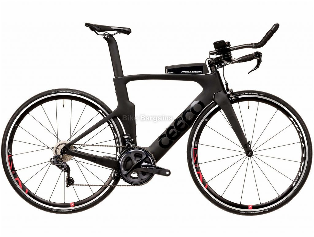 Ceepo Viper R8050 Ultegra Di2 Carbon TT Road Bike 2020 L, Grey, Black, 22 Speed, Carbon Frame, Caliper Brakes, 700c wheels