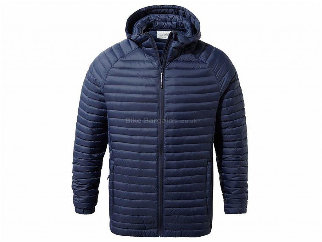 Craghoppers Venta Lite Hooded Jacket M,L,XL,XXL, Blue, Long Sleeve