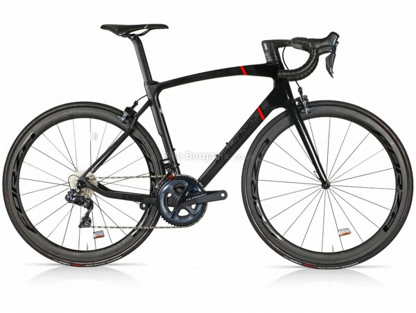 Eddy Merckx 525 Ultegra Di2 Carbon Road Bike 2020 L, Black, Carbon Frame, Caliper Brakes, 22 Speed, 700c Wheels, Double Chainring