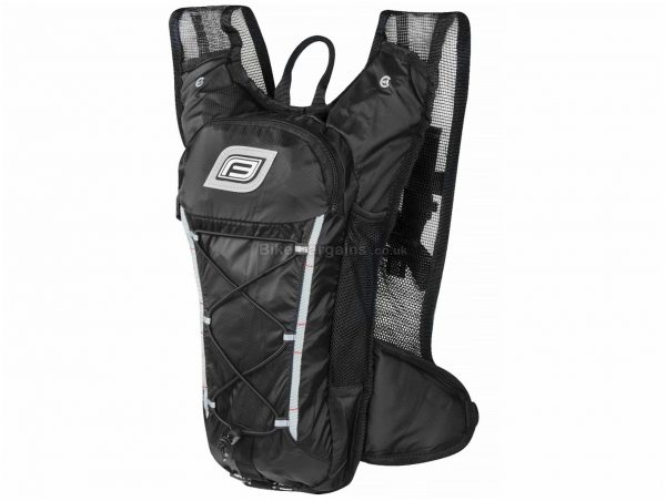 Force Pilot Pro Hydration Pack 10 Litres, Black, Red, Nylon, Polyester
