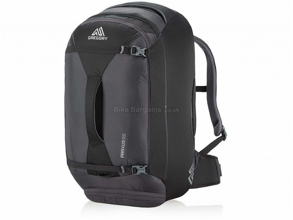 Gregory Praxus 65 Backpack 32cm, 65cm, 37cm, Black, 65 Litres, 1.85kg