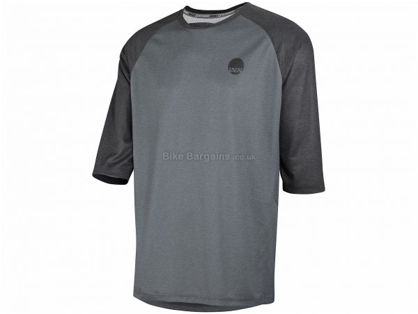 IXS Carve Short Sleeve Jersey M, Grey, Black, Short Sleeve