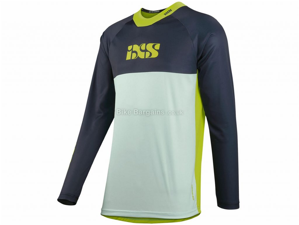 IXS Trigger X Long Sleeve Jersey  L,XXL are extra, Blue, Green, Long Sleeve