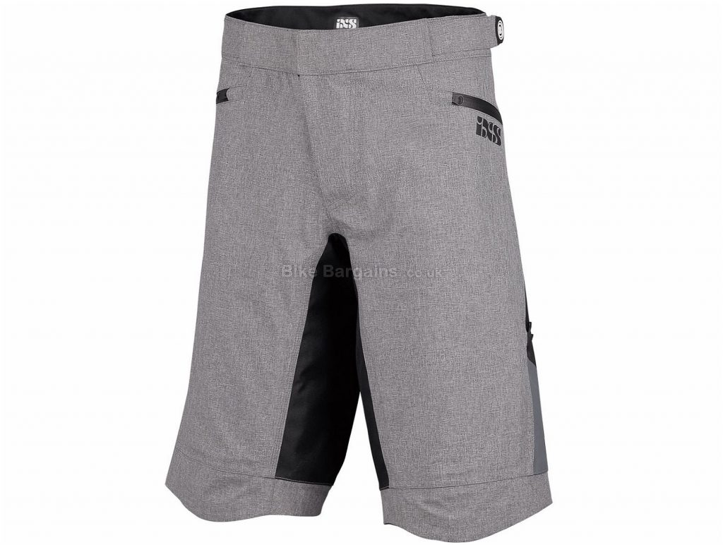 IXS Winger All Weather Baggy Shorts XS, Black, Baggy
