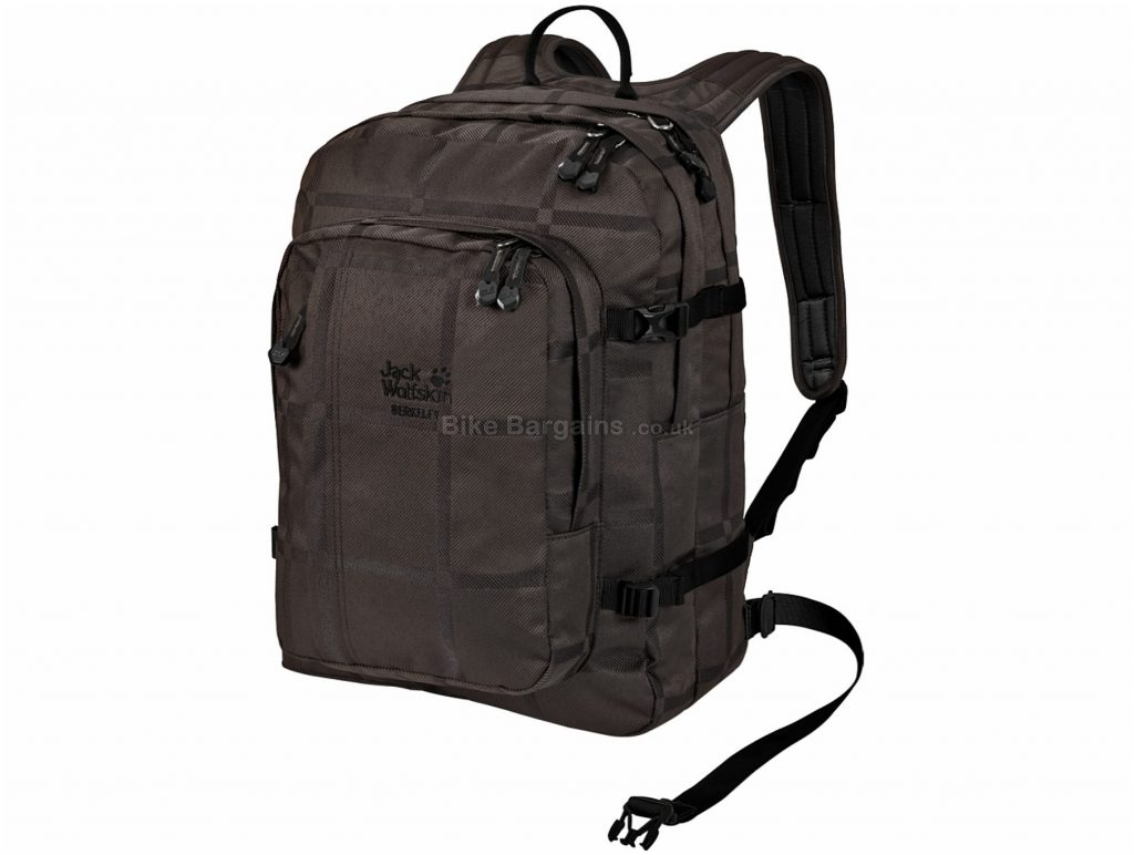 Jack Wolfskin Berkeley Check Backpack 30 Litres, Brown