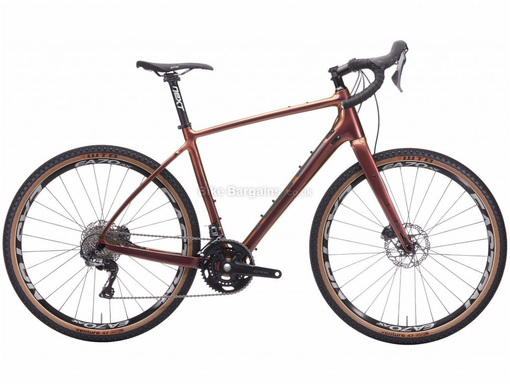 Kona Libre DL Adventure Gravel Bike 2020 46cm, Brown, Carbon Frame, 650c wheels, Disc Brakes, 22 Speed,