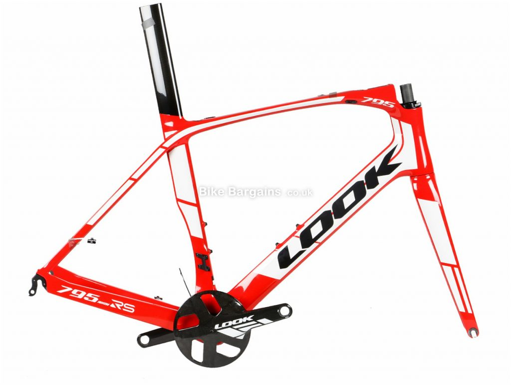 Look 795 Light RS Carbon Road Frame L, Red, White, Black, Carbon Frame, 700c, Caliper Brakes
