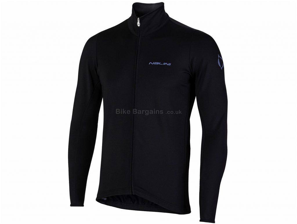 Nalini AIW Carena 2.0 Jacket S, Black, Long Sleeve, Polyester, Elastane
