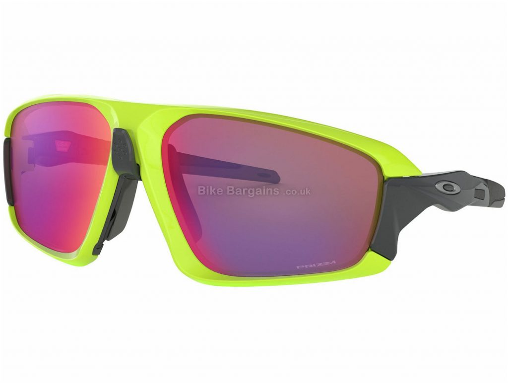 Oakley Field Jacket Prizm Sunglasses Yellow, Black, One Size