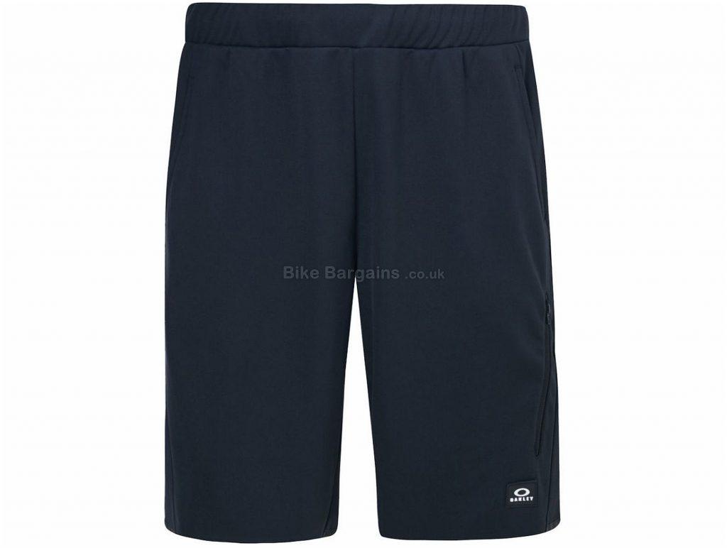 Oakley Reflective Tech Shorts XXL, Black, Baggy, Polyester