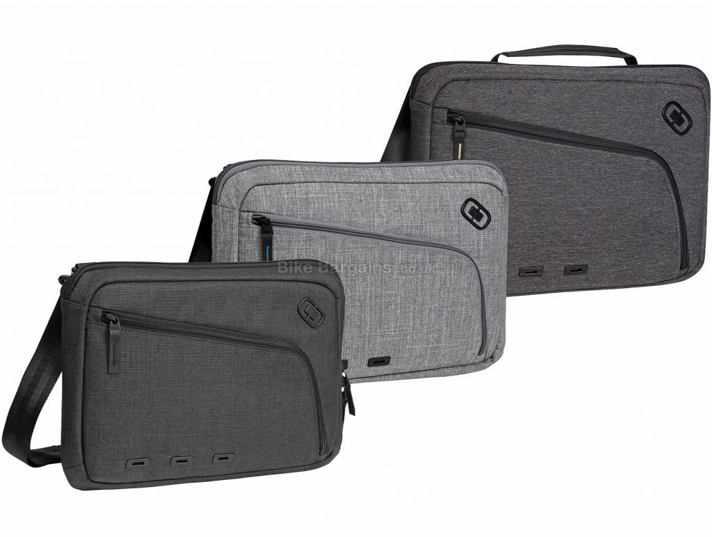 "Ogio Slim Sleeve 13"" Messenger Bag 13"", Black, Grey"