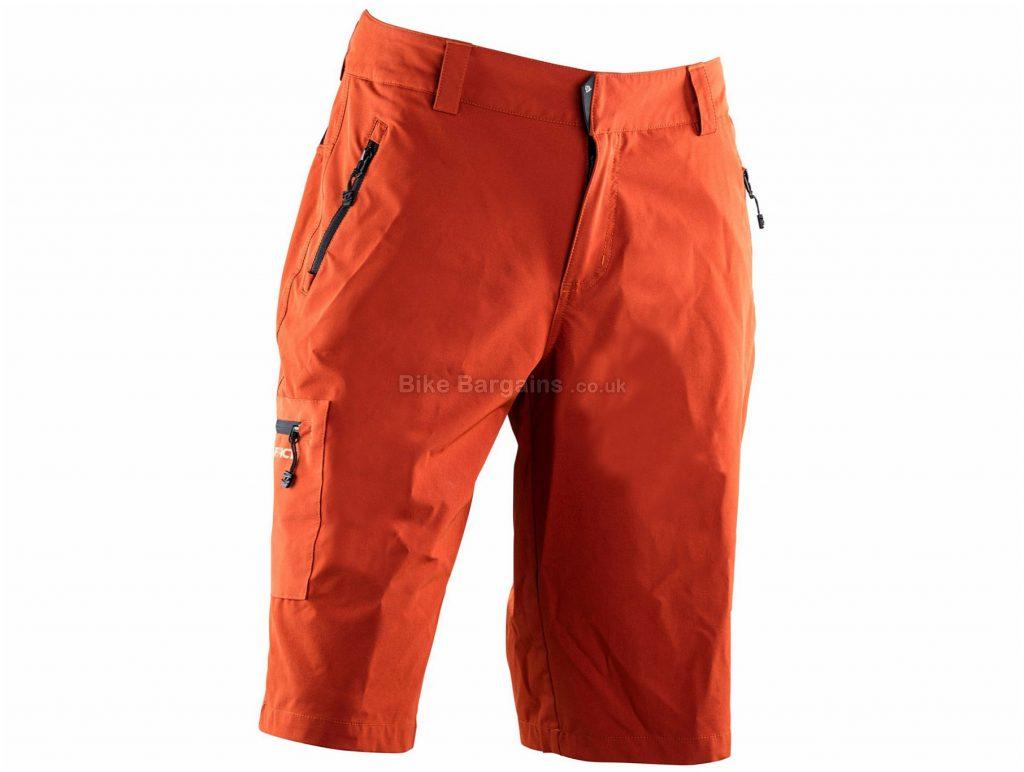 Race Face Trigger Baggy Shorts M, Orange