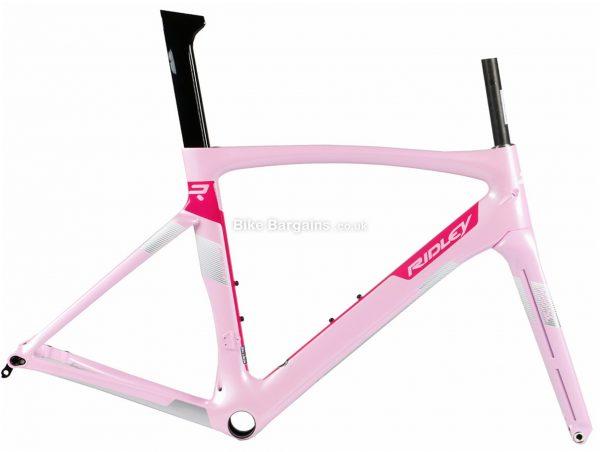 Ridley Jane SL Disc Ladies Carbon Road Frame S, Pink, Black, White, Purple, Carbon Frame, 700c, Disc