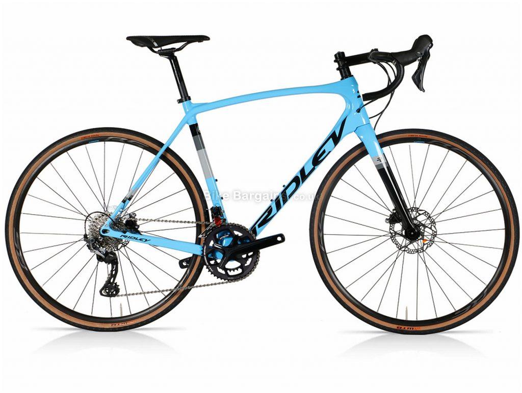 Ridley Kanzo Speed GRX600 Carbon Gravel Bike XS, Blue, Black, Carbon Frame, 700c Wheels, 22 Speed, Disc Brakes