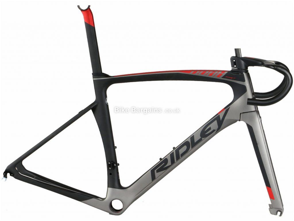 Ridley Noah Fast Carbon Road Frame M, Black, Grey, Silver, Red, Carbon Frame, 700c, Caliper Brakes