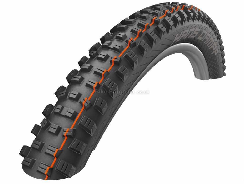 "Schwalbe Hans Dampf Addix Folding MTB Tyre 2019 27.5"", 2.35"", Black, 795g, Folding"