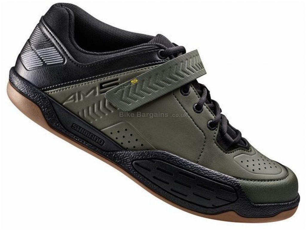 Shimano AM5 MTB Shoes 36, Green, Black