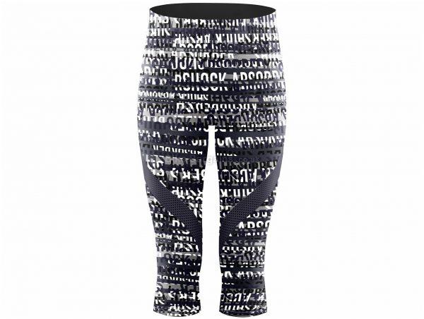 Shock Absorber Ladies Capri Tights XS, Grey