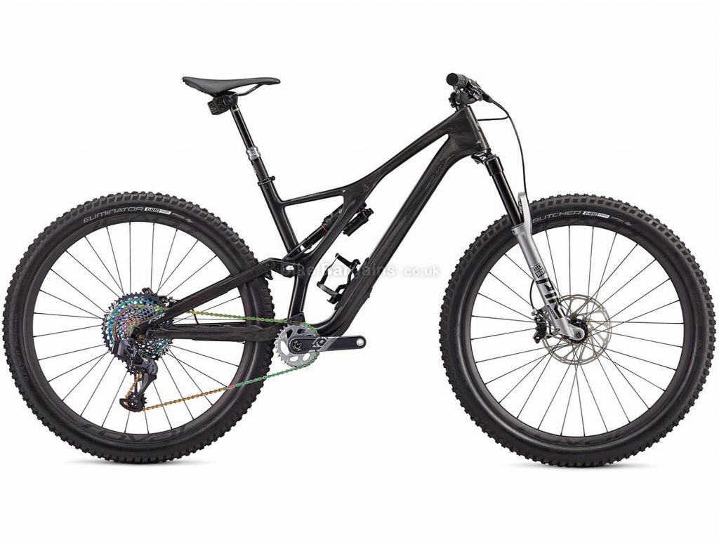 """Specialized S-Works Stumpjumper Carbon SRAM AXS 29"""" Full Suspension Mountain Bike 2020 M,L, Black, Silver, 12 Speed, Carbon Frame, Disc Brakes, 29"""" wheels"""
