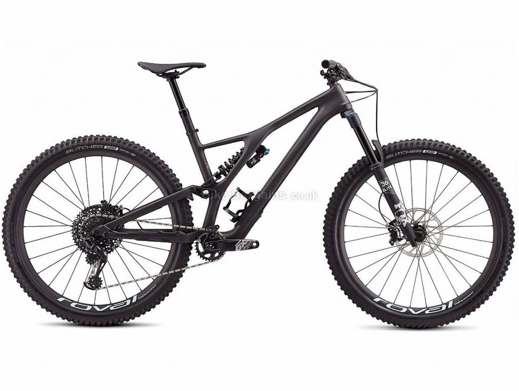 "Specialized Stumpjumper Evo Pro 29"" Carbon Full Suspension Mountain Bike 2020 M, Black, 12 Speed, Carbon Frame, Disc Brakes, 29"" wheels"