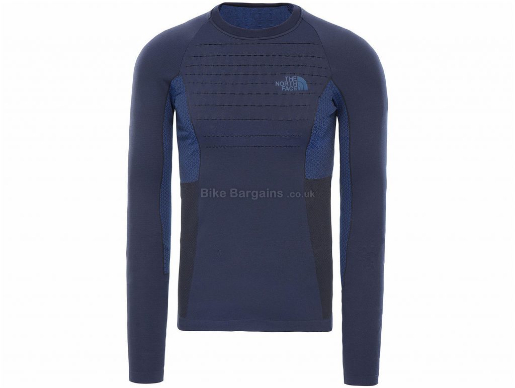 The North Face Sport Crew Long Sleeve Base Layer L,XL, Blue