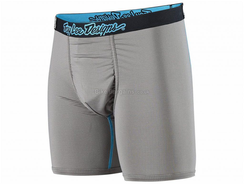 Troy Lee Designs BN3TH Underwear Shorts XXL, Grey, Black