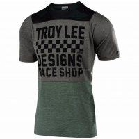 Troy Lee Designs Skyline Checker Short Sleeve Jersey 2019