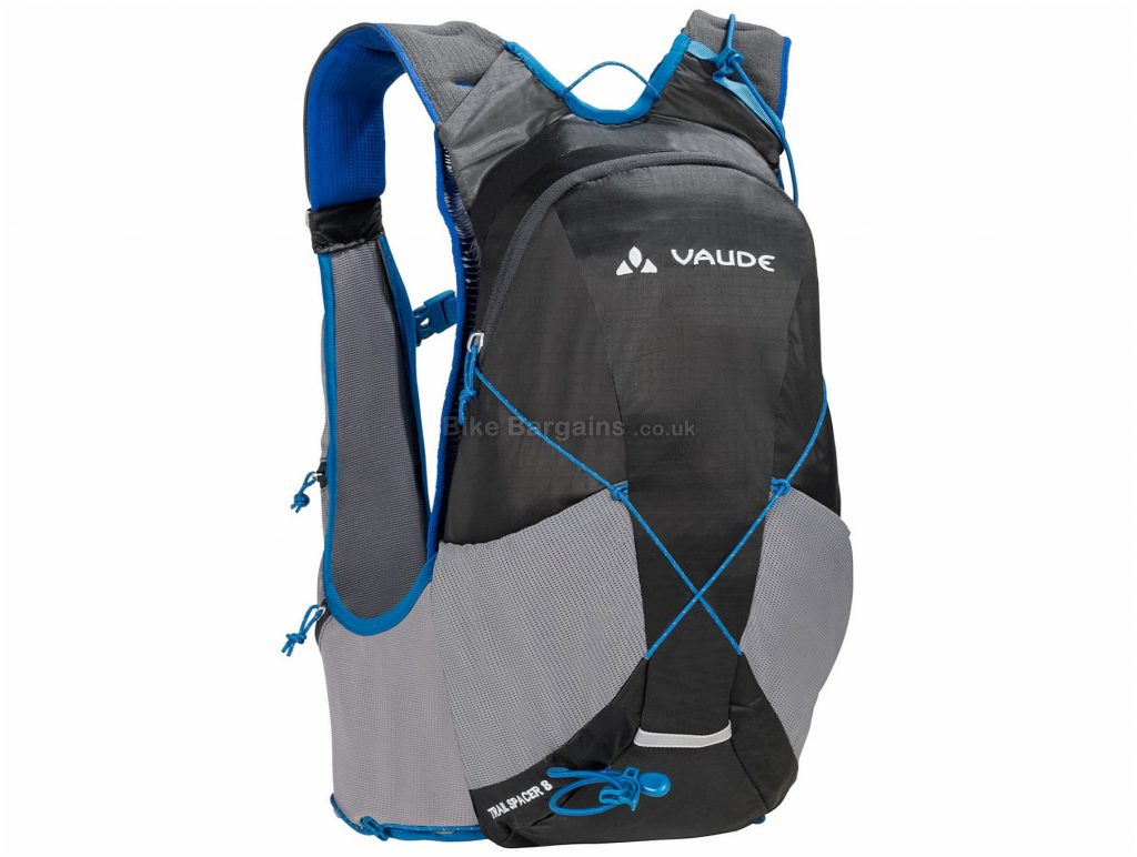 Vaude Trail Spacer 8 Backpack 41cm, 25cm, 17cm, Black, Blue, 390g