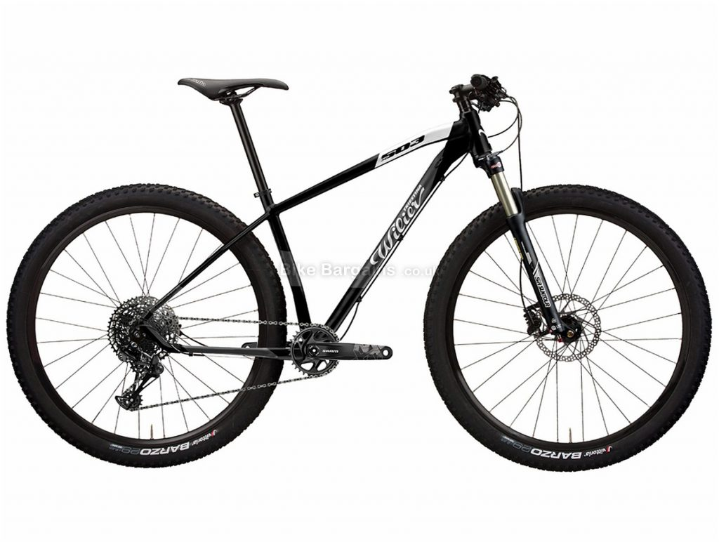 """Wilier 503X Comp NX Alloy Hardtail Mountain Bike 2020 S, Black, Red, Alloy Hardtail Frame, Disc Brakes, 12 Speed, 29"""" Wheels, Single Chainring"""